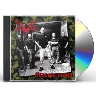 Cock Sparrer HERE WE STAND CD