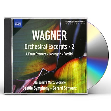 Richard Wagner V 2: ORCHESTRAL EXCEPRTS (FAUS CD