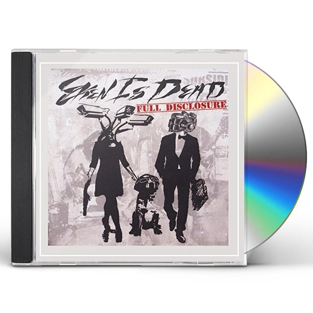 Eken Is Dead FULL DISCLOSURE CD