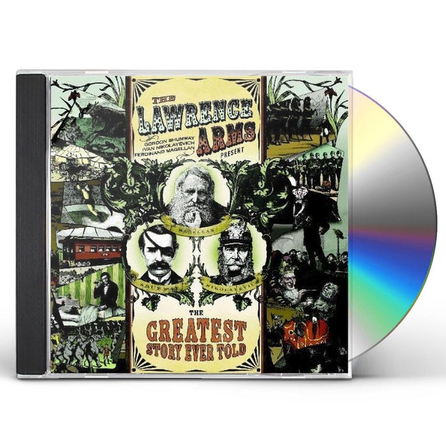 The Lawrence Arms GREATEST STORY EVER TOLD CD
