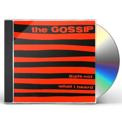 Gossip THAT'S NOT WHAT I HEARD CD