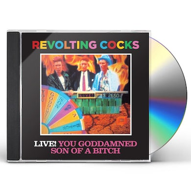 LIVE YOU GODDAMNED SON OF A BITCH CD