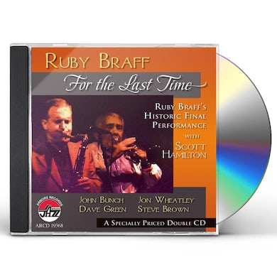 Ruby Braff FOR THE LAST TIME CD