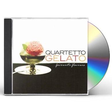 Quartetto Gelato FAVORITE FLAVORS, BEST OF CD