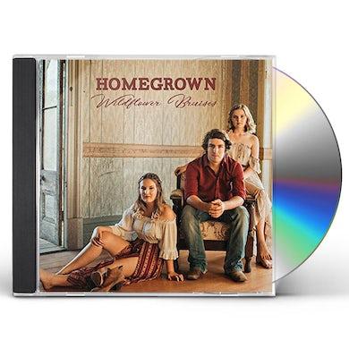 Homegrown WILDFLOWER BRUISES CD