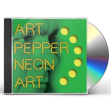Art Pepper NEON ART: VOLUME THREE CD