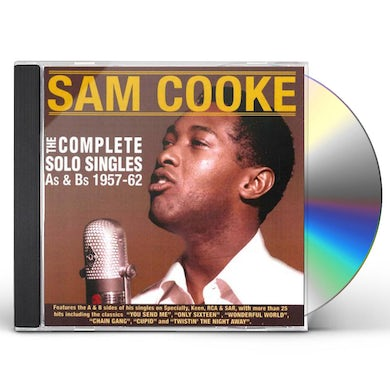 Sam Cooke COMPLETE SOLO SINGLES AS & BS 1957-62 CD