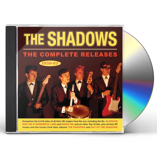 Shadows COMPLETE RELEASES 1959-62 CD