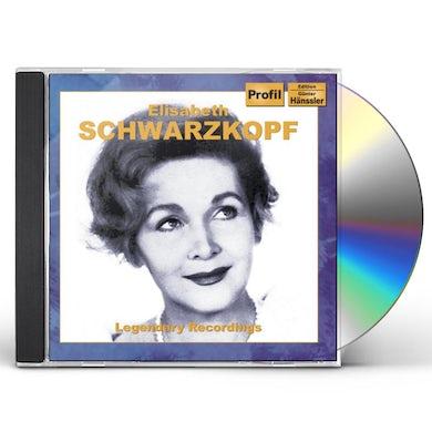 Elisabeth Schwarzkopf LEGENDARY RECORDINGS CD