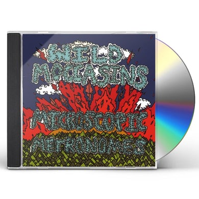Wild Moccasins MICROSCOPIC METRONOMES CD