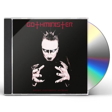 Gothminister GOTHIC ELECTRONIC ANTHEMS CD