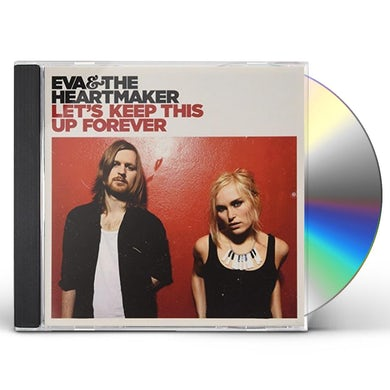 Eva & The Heartmaker LET'S KEEP THIS UP FOREVER CD