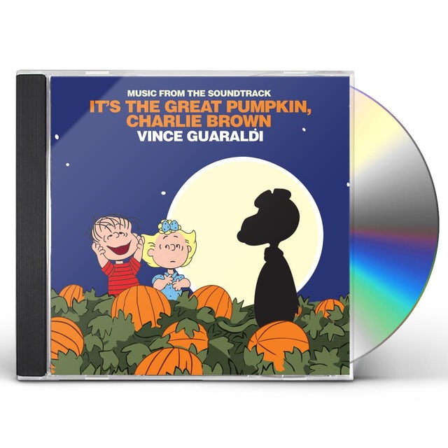 Vince Guaraldi IT'S THE GREAT PUMPKIN CHARLIE BROWN CD