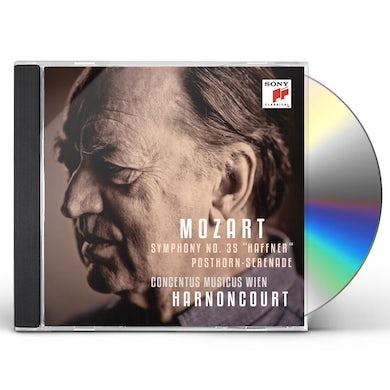 Nikolaus Harnoncourt MARCH IN D MAJOR K 335 / SERENADE IN D MAJOR K 320 CD