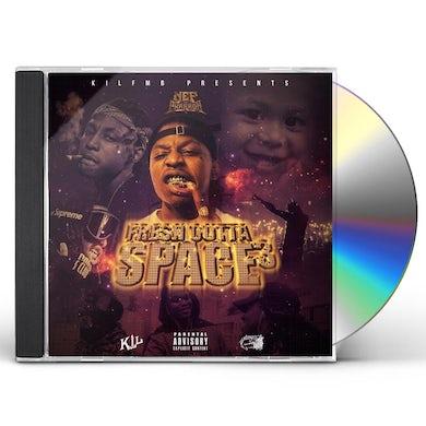 Nef The Pharaoh FRESH OUTTA SPACE 3 CD