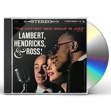 Lambert Hendricks & Ross HOTTEST NEW GROUP IN JAZZ CD