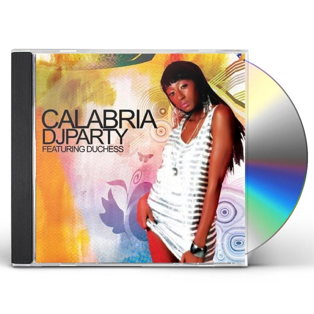 DJ Party CALABRIA CD