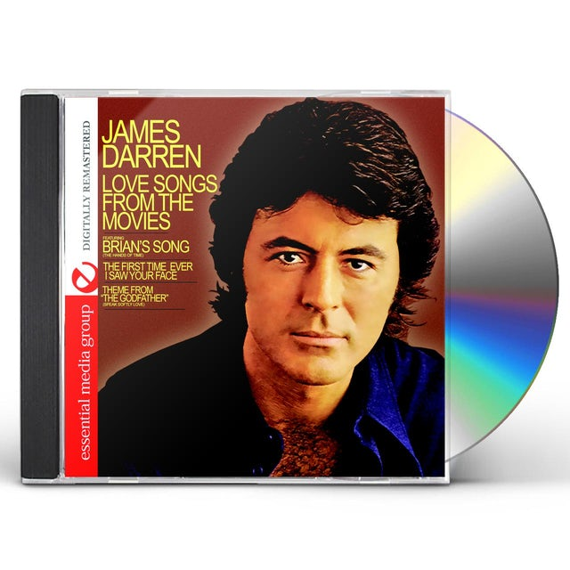 James Darren LOVE SONGS FROM THE MOVIES CD