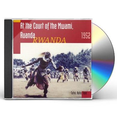 Hugh Tracey AT THE COURT OF THE MWAMI RWANDA 1952 CD