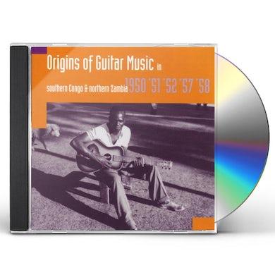 Hugh Tracey ORIGINS OF GUITAR MUSIC: SOUTHERN CONGO & NORTH CD