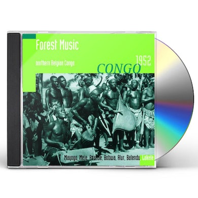 Hugh Tracey FOREST MUSIC: NORTHERN BELGIAN CONGO 1952 CD