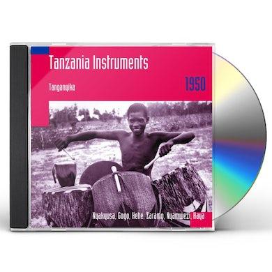 Hugh Tracey TANZANIA INSTRUMENTS: TANGANYIKA 1950 CD