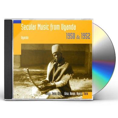 Hugh Tracey SECULAR MUSIC FROM UGANDA 1950 & 1952 CD