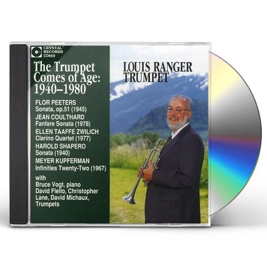 Ranger TRUMPET COMES OF AGE CD