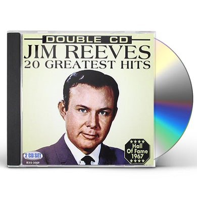 Jim Reeves 20 GREATEST HITS CD