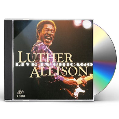 Luther Allison LIVE IN CHICAGO CD