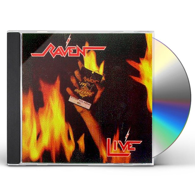 Raven LIVE AT THE INFERNO CD