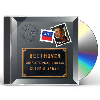 Claudio Arrau COLL ED: BEETHOVEN COMPLETE PIANO SONATAS CD