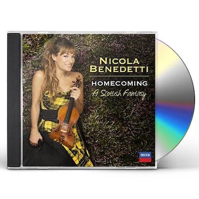 Nicola Benedetti HOMECOMING: A SCOTTISH FANTASY CD