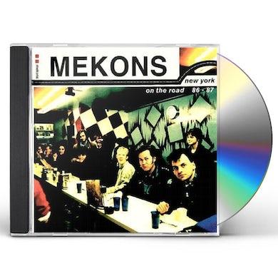 Mekons NEW YORK ON THE ROAD 86-87 CD