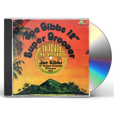 "Joe Gibbs 12"" REGGAE DISCO MIX SHOWCASE 5 CD"