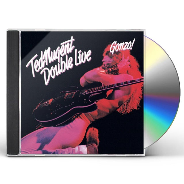 Ted Nugent DOUBLE LIVE GONZO CD