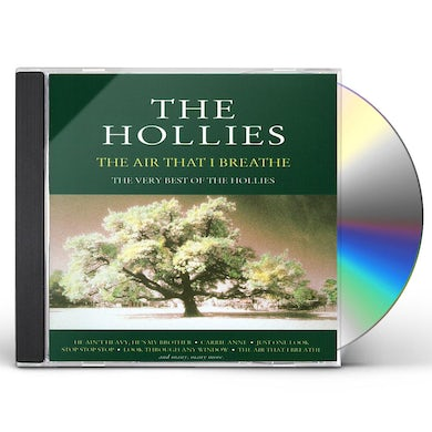 The Hollies AIR THAT I BREATHE: BEST OF CD