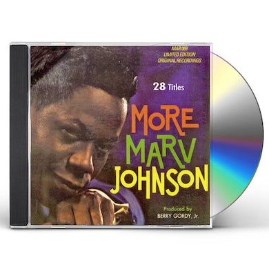 Marv Johnson ULTIMATE COLLECTION 28 CUTS CD