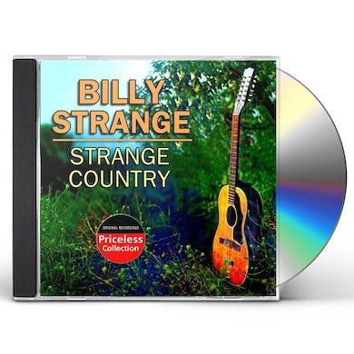 Billy Strange STRANGE COUNTRY CD
