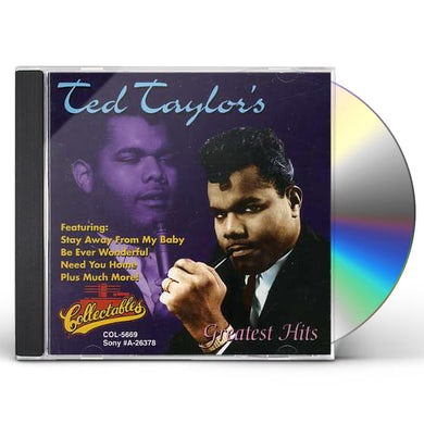 Ted Taylor GREATEST HITS CD