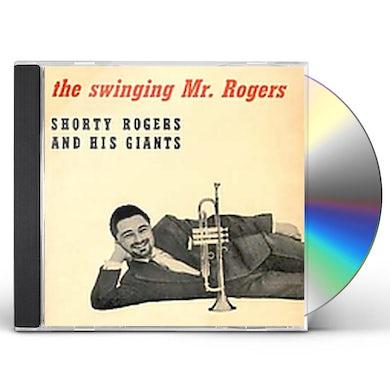 Shorty Rogers SWINGIN MR ROGERS CD