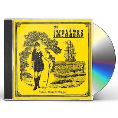 IMPALERS BLOOD RUM & REGGAE CD