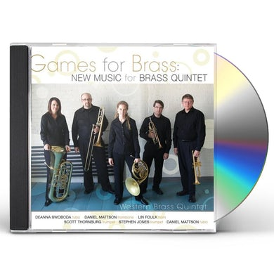 Western GAMES FOR BRASS: NEW MUSIC FOR BRASS QUINTET CD