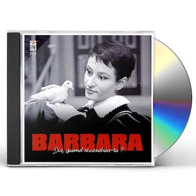 BARBARA DIS QUAND REVIENDRAS-TU? CD