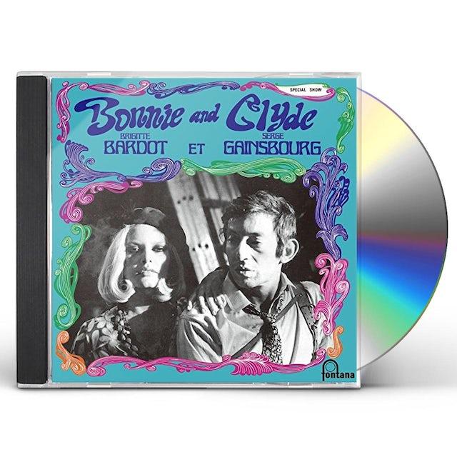 Brigitte Bardot BONNIE & CLYDE CD