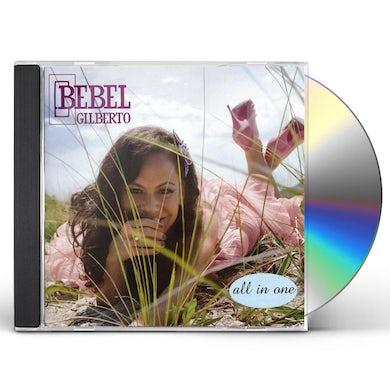 Bebel Gilberto ALL IN ONE CD