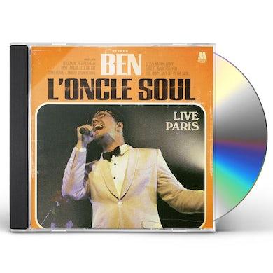 Ben L'Oncle Soul LIVE PARIS CD