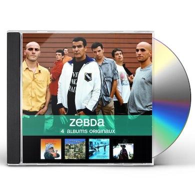 Zebda 4 ALBUMS ORIGINAUX CD