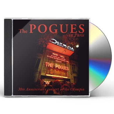 The Pogues: IN PARIS CD