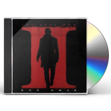 Don Omar LAST DON II CD